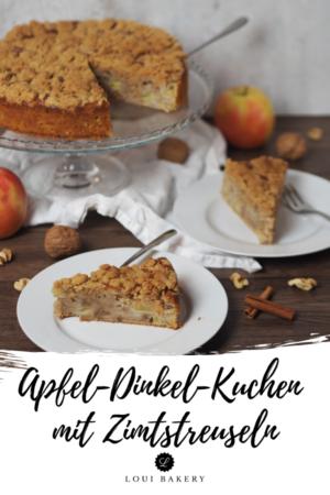 Apfel-Dinkel-Kuchen mit Zimtstreuseln