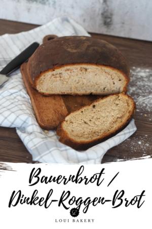 Bauernbrot _ Dinkel-Roggen-Brot