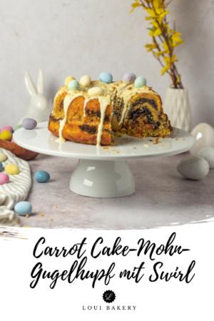 Carrot Cake-Mohn-Gugelhupf mit Swirl