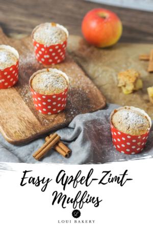 Easy Apfel-Zimt-Muffins