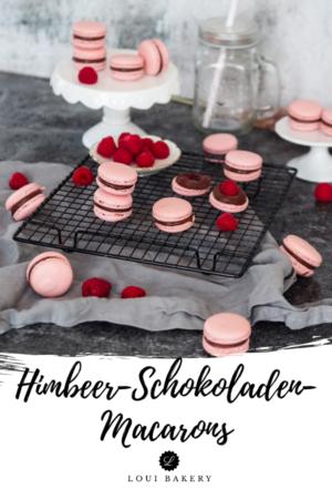 Himbeer-Schokoladen-Macarons