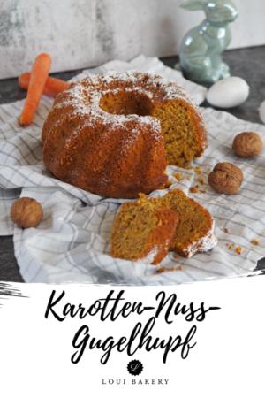 Karotten-Nuss-Gugelhupf