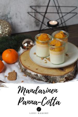 Mandarinen Panna Cotta