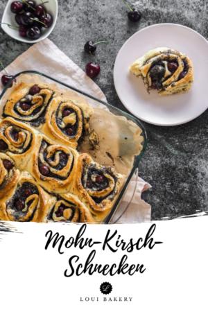 Mohn-Kirsch-Schnecken