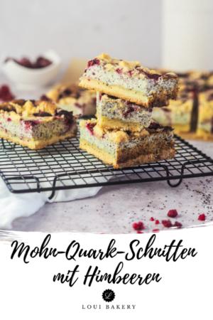 Mohn-Quark-Schnitten mit Himbeeren-1