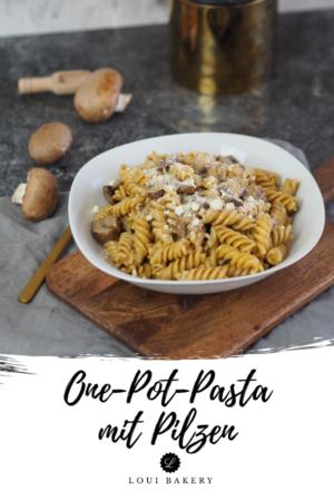 One-Pot-Pasta mit Pilzen