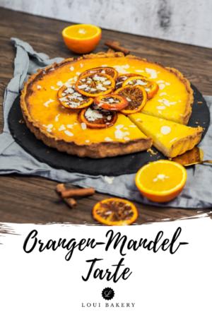 Orangen-Mandel-Tarte